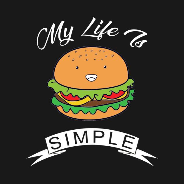 6a49c4407 burger gift ideas Onesie. New!Back Print. burger gift ideas burger gift  ideas