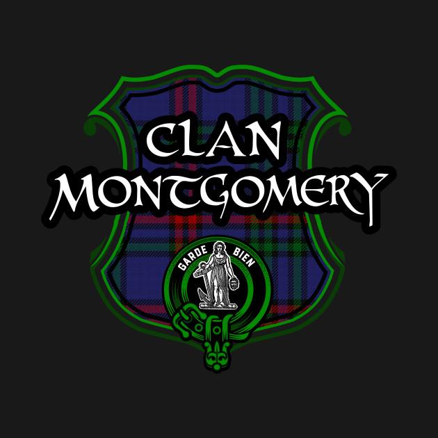 Clan Montgomery Surname Scottish Clan Tartan Crest Badge