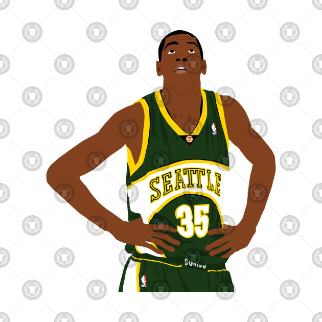Rookie Kevin Durant