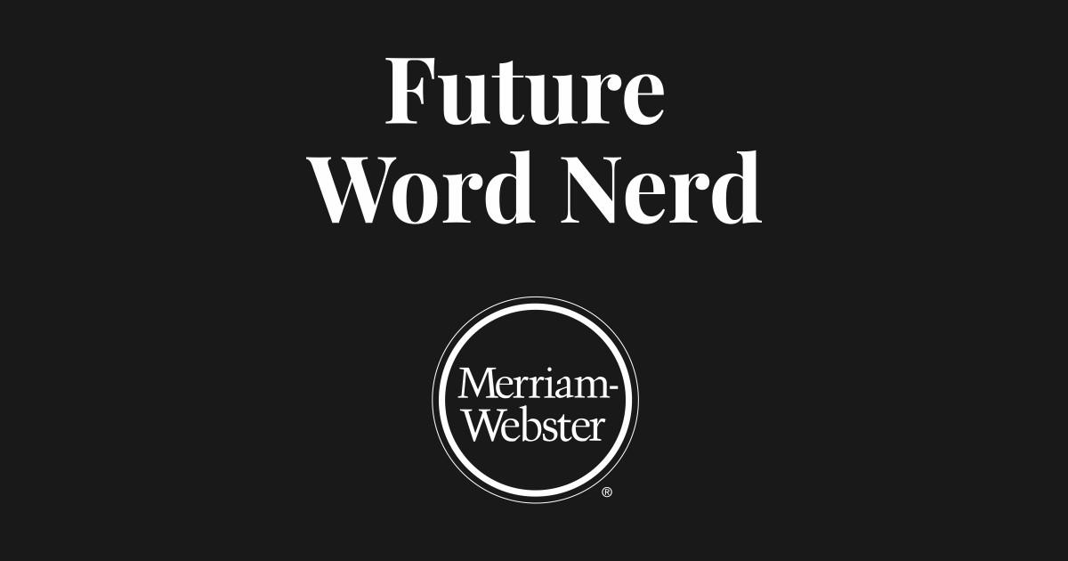 Future Word Nerd - Dark by merriamwebster