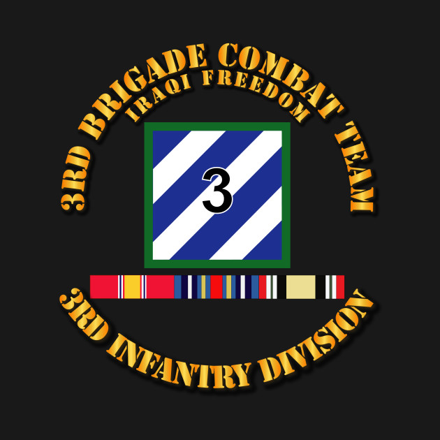 3rd BCT, 3rd ID - OIF w Svc Ribbons