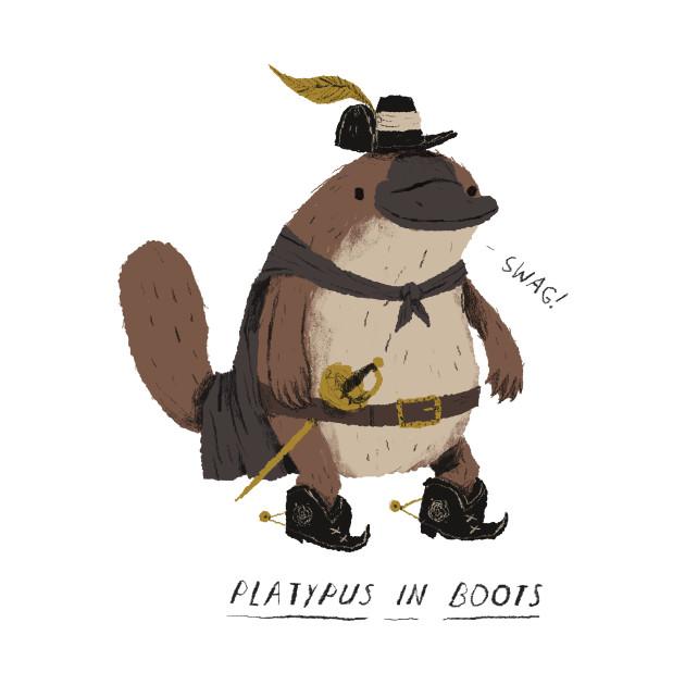 6c86f815e817 platypus in boots - Platypus - Onesie