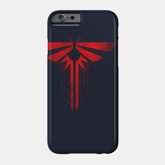The Last Of Us Firefly Symbol Red The Last Of Us Phone Case