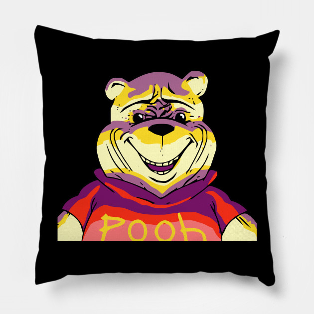 Evil Winnie Cartoon Horror T Shirt Winnie The Pooh Pillow