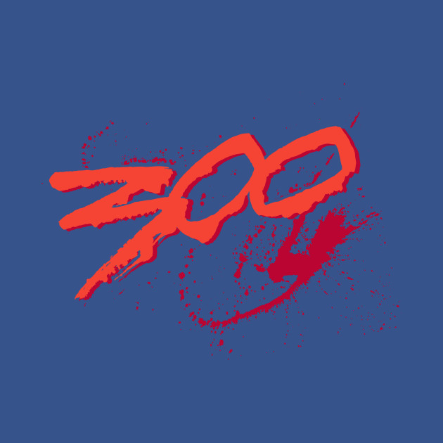 300 Spartan Movie Logo - Spartan Movie Logo - T-Shirt ...