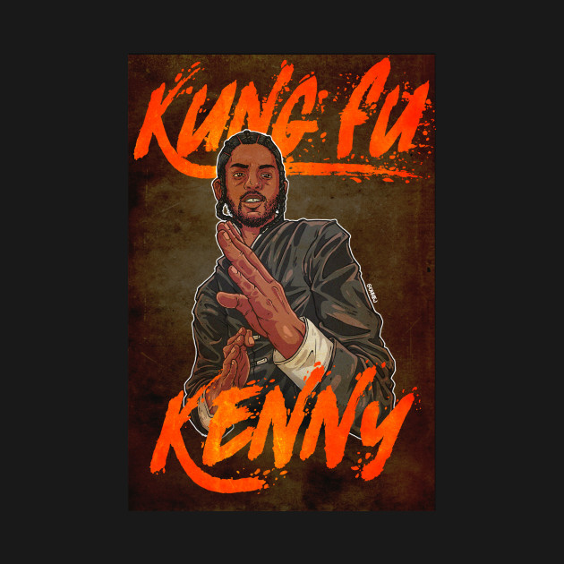 Kung Fu Kenny (with background)