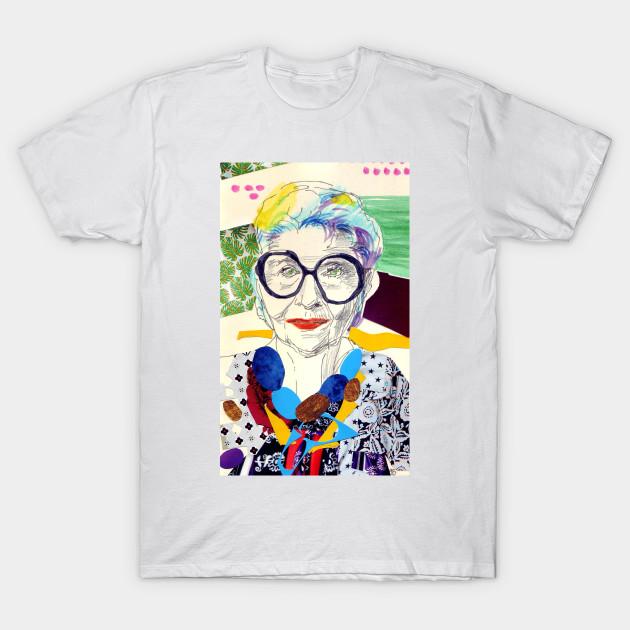 7b9a97659 Iris Apfel fanart - Irisapfel - T-Shirt | TeePublic