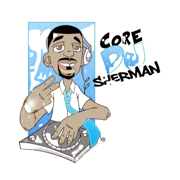 CoreDJ Sherman Logo