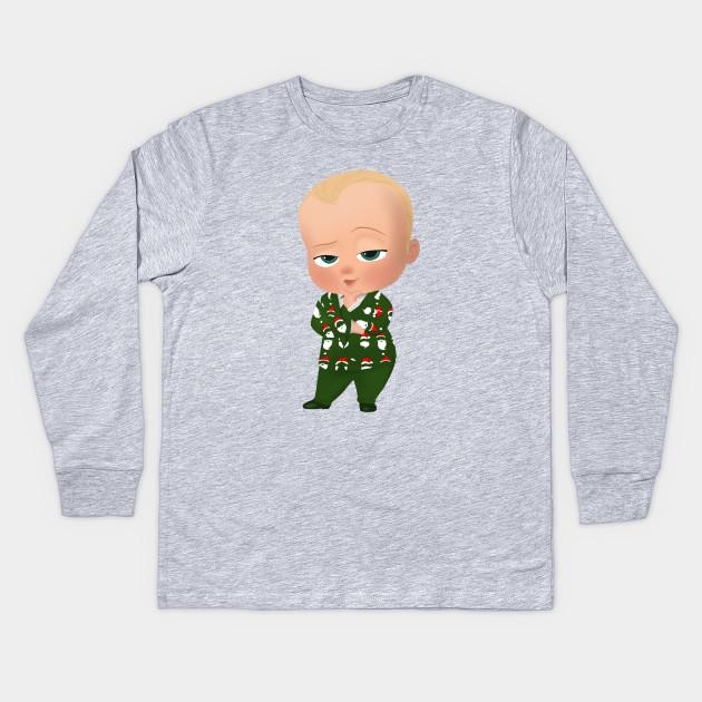 82aebf5219cb Boss Baby Christmas - Boss Baby - Kids Long Sleeve T-Shirt