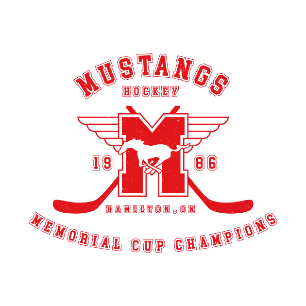 Mustangs Hockey - Memorial Cup Champions (red)