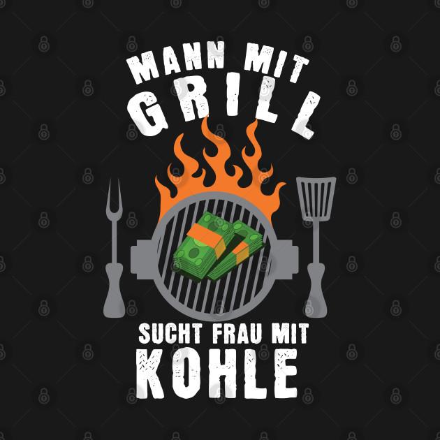 blogger.com mit aufkleber sucht mit kohle frau grill mann