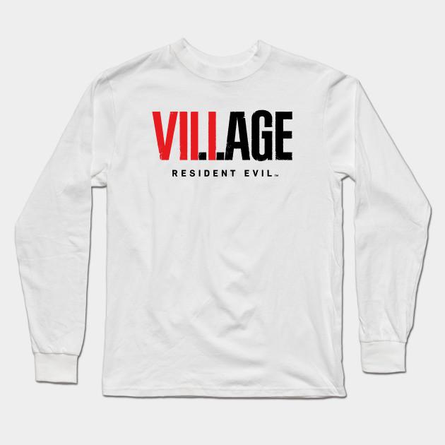 Resident Evil 8 Village Text Logo Resident Evil Village Long