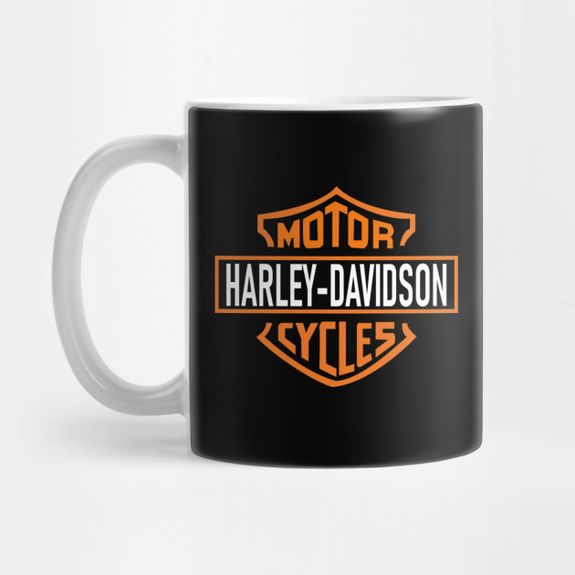 Harley Davidson Mens T shirt Motorcycle Biker Rider Tee Dad NEW Gift Top Mug