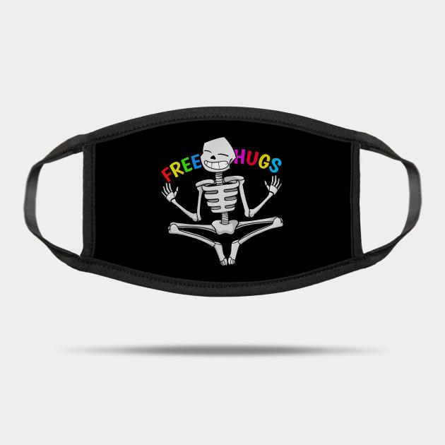 Autism Halloween Parties 2020 Kids Autism Halloween Dabbing Skeleton kids Halloween 2020   Free Hugs
