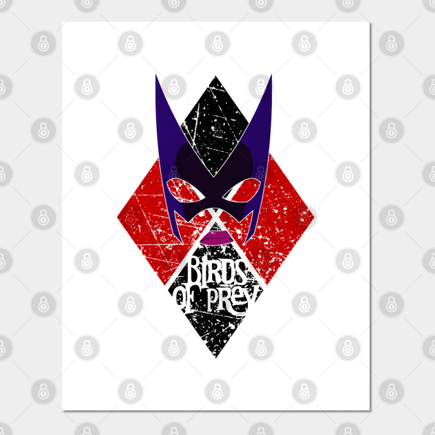 Birds Of Prey Huntress Harley Quinn Posters And Art Prints Teepublic