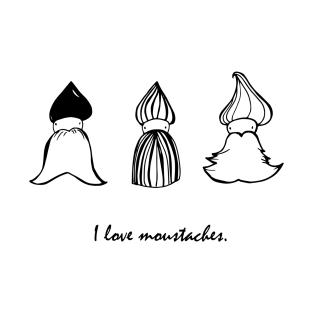 Moustache T-Shirts | TeePublic