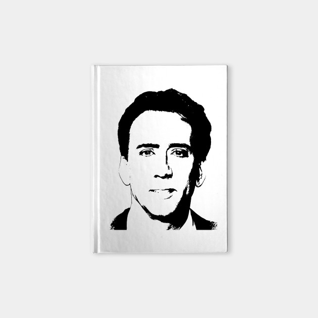 Nicolas Cage Pop Art Portrait
