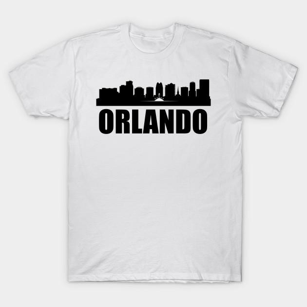e3a5528cc19 Orlando FL Skyline - Orlando - T-Shirt