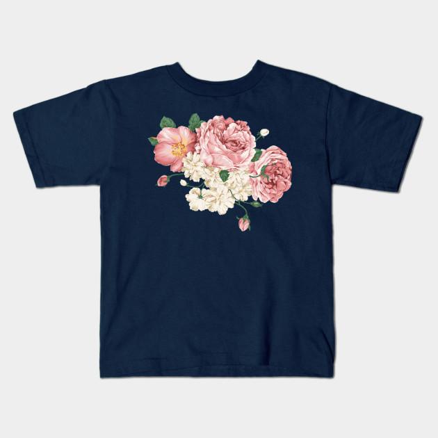 Flower Design Flowers Kids T Shirt Teepublic