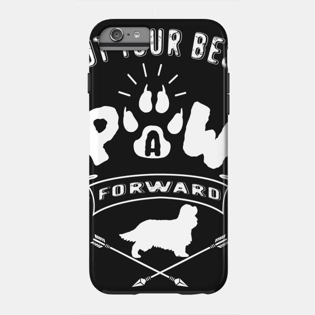 Put Your Best Paw King Charlies Spanie