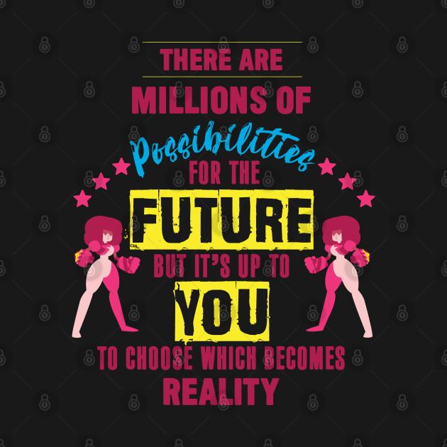 Steven Universe - Garnet Motivational Quote - Colour