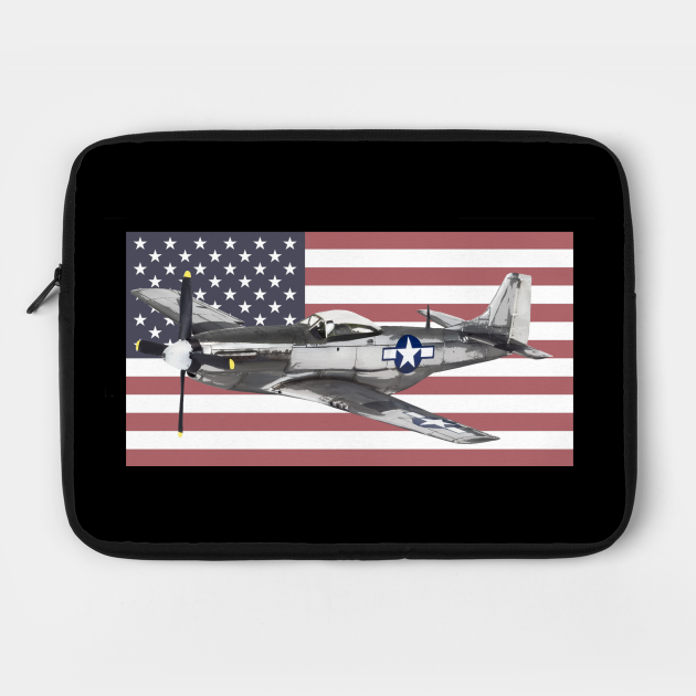 P-51 Mustang USAF USAAF WW2 WWII Fighter Plane Aircraft