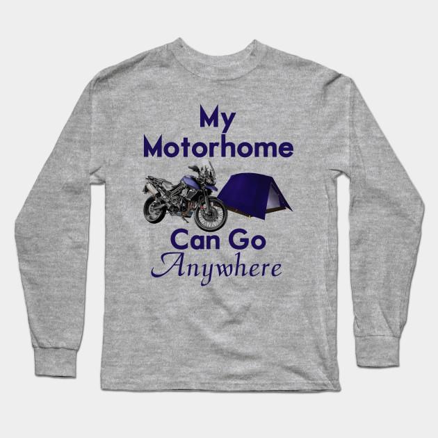 c5c6b5462a24 Motorcycle Motorhome - Motorcycle Adventure - Long Sleeve T-Shirt ...