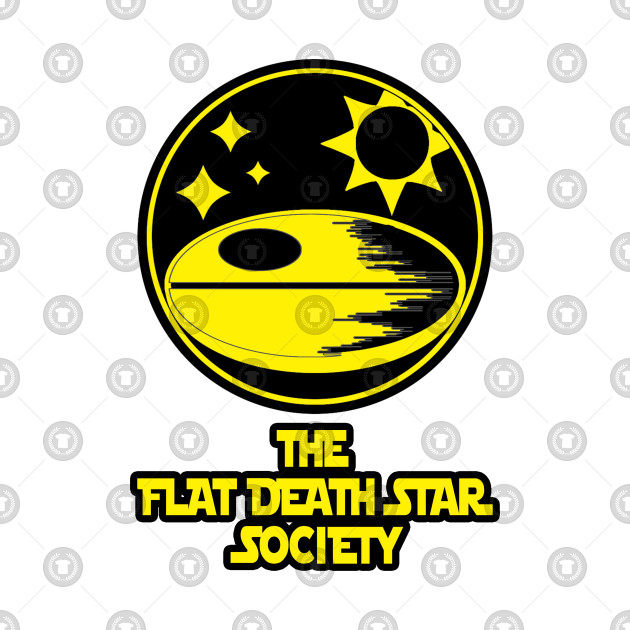 The Flat Death Star Society Classic Yellow edition