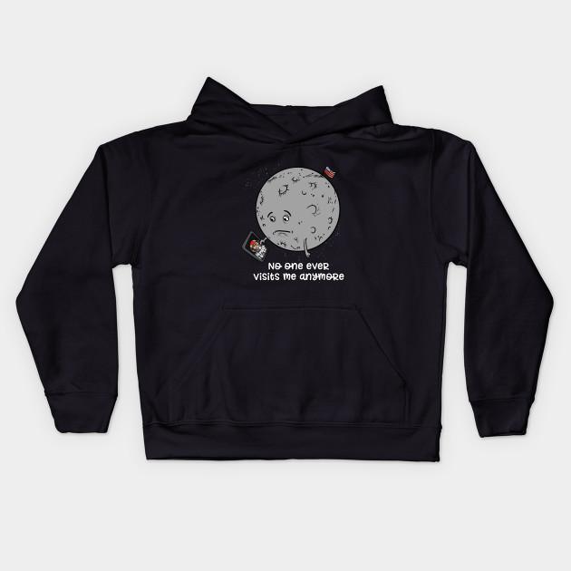 Sad Moon Joke Funny Astronomy Space