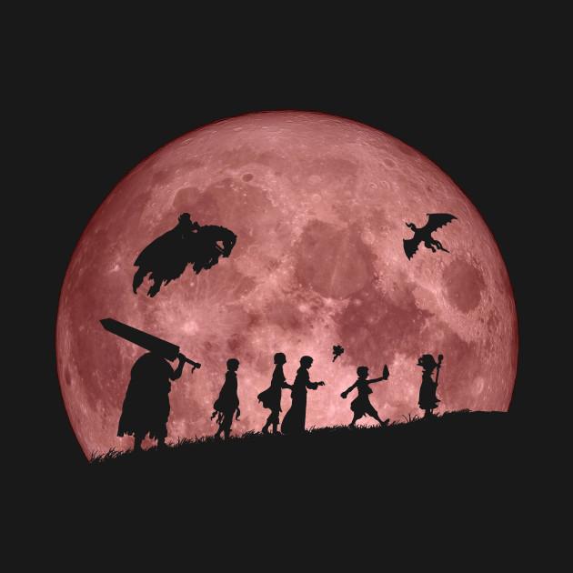 Fellowship of the Berserk (moon version)