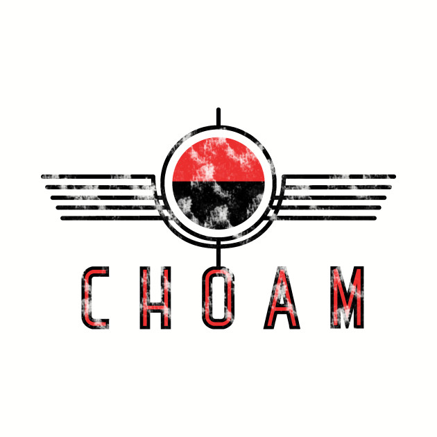 Choam logo red vintage