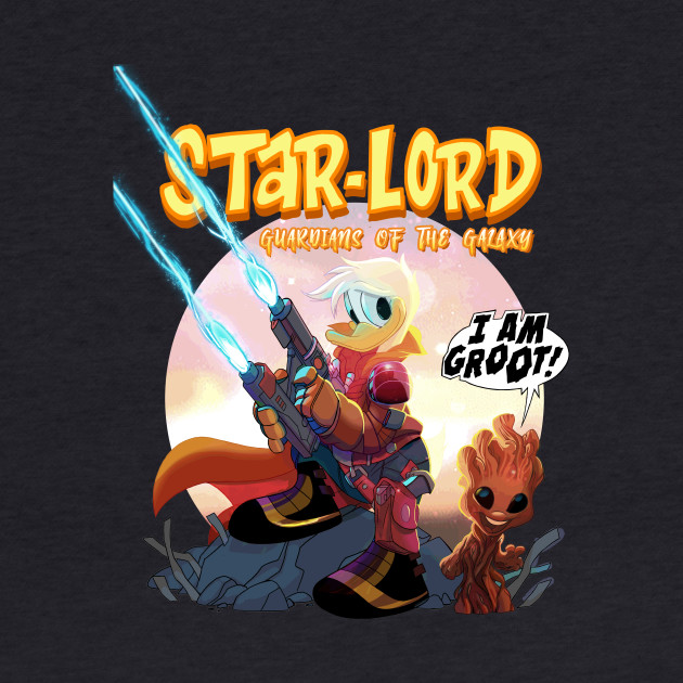 star-lord donald duck