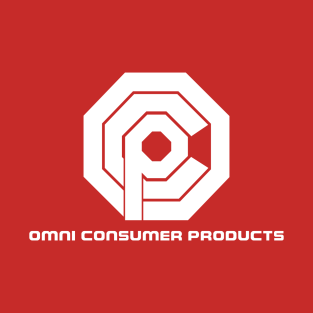 Omni Consumer Products - white t-shirts