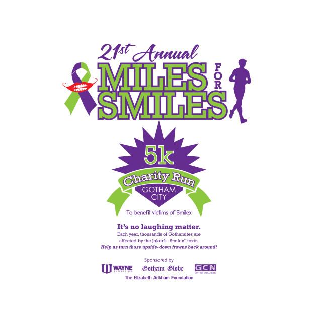 Miles for Smiles 5k Charity Run - Gotham City