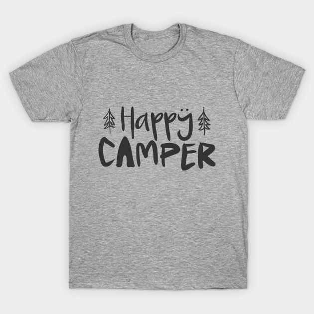 562a7f903e22e Happy Camper Shirt Funny Camping Tee