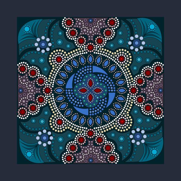 Dot Painting Meets Mandalas 16 1 Aboriginal Kids Hoodie Teepublic