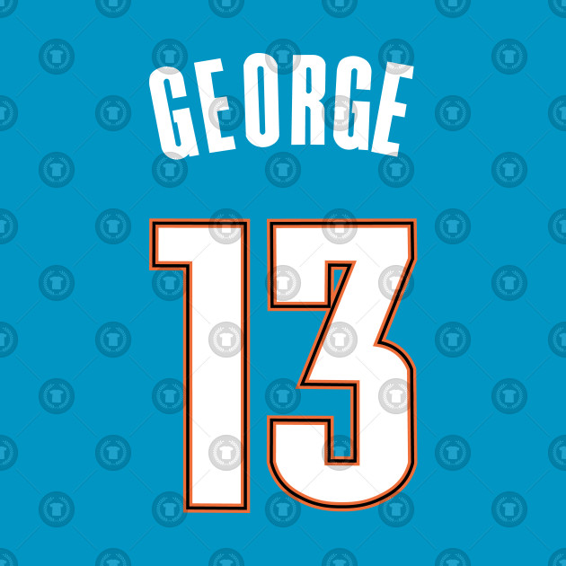 promo code 46cb6 626c9 Paul George Thunder City Jersey
