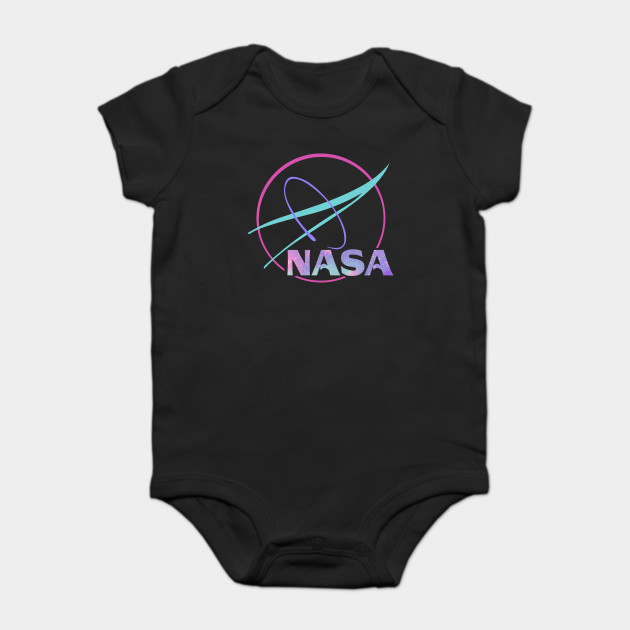 6b1f23fbd NASA Pastel Rainbow Classic Logo Graphic T-Shirt - Nasa Pastel ...