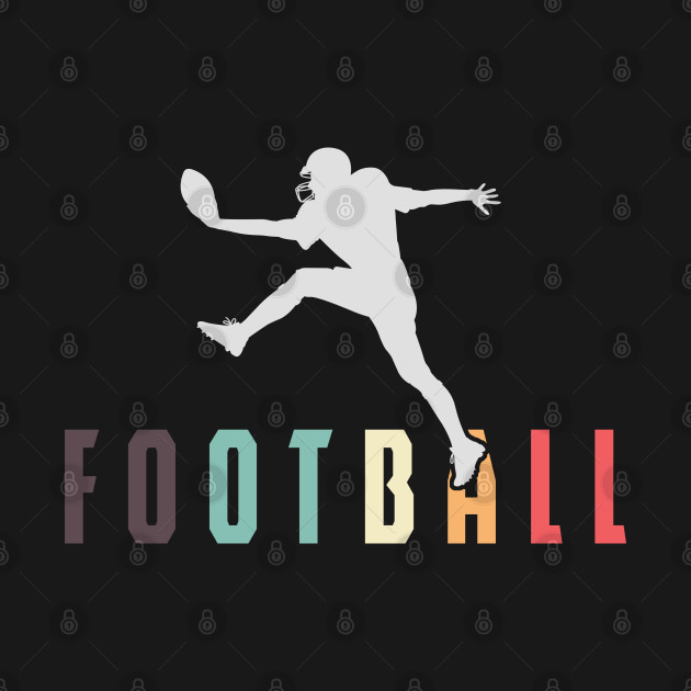 Football Vintage Footballer Players Contact Team Sports Rugger Gift