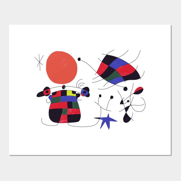Joan Miro 3 Miro Posters And Art Prints Teepublic