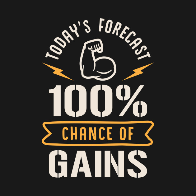 Today's Forecast 100% Chance Of Gains