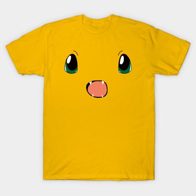 537baf16 Shocked Starter Pokemon Charmander - Charmander - T-Shirt | TeePublic