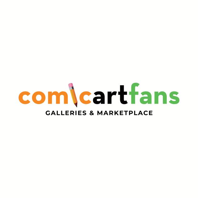 Comic Art Fans Logo T-Shirt