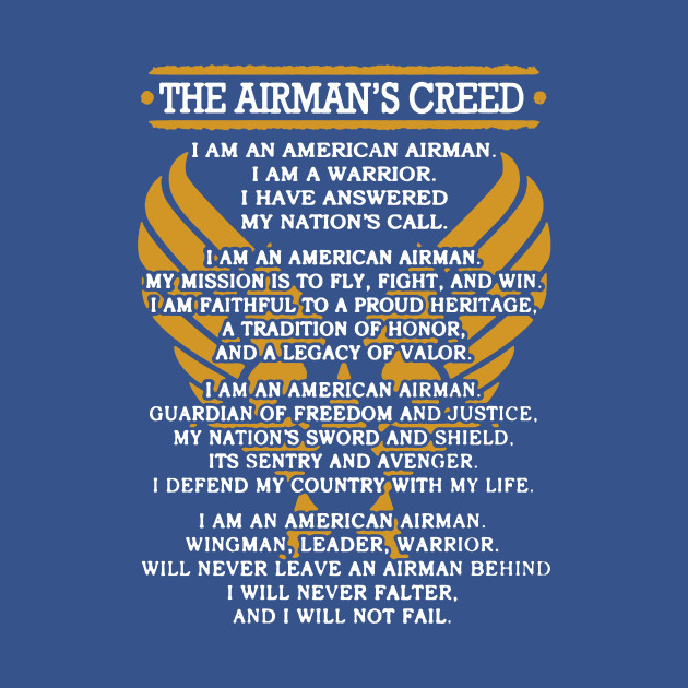 Airmans creed shirt airmans creed tank top teepublic thecheapjerseys Images