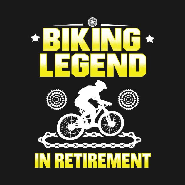 Biking Legend in Retirement Pensioner Bike