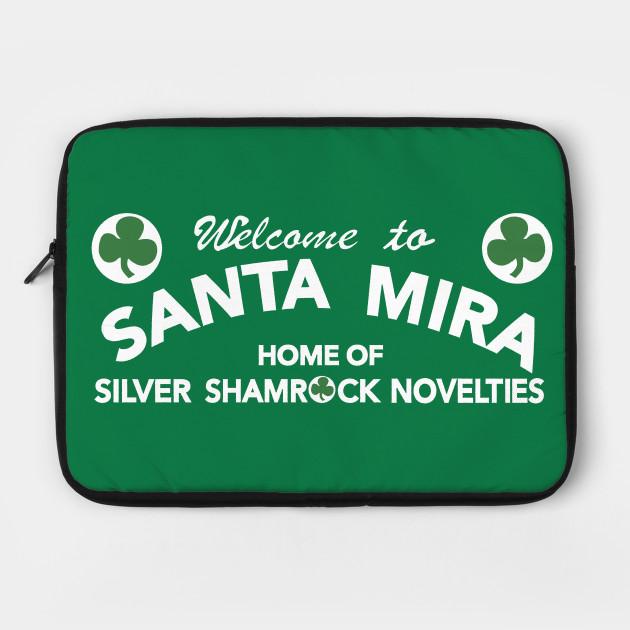 Santa Mira Silver Shamrock Novelties