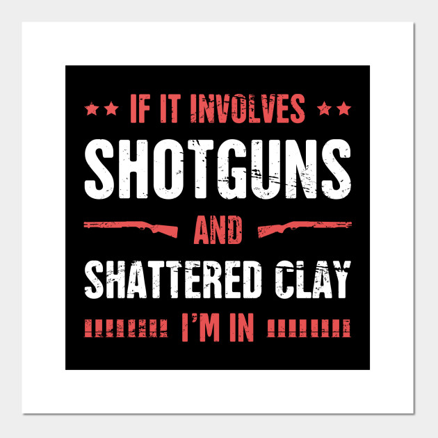 Shotguns And Shattered Clay - Skeet Shooting