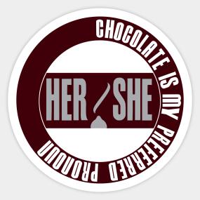 Pronoun Stickers | TeePublic