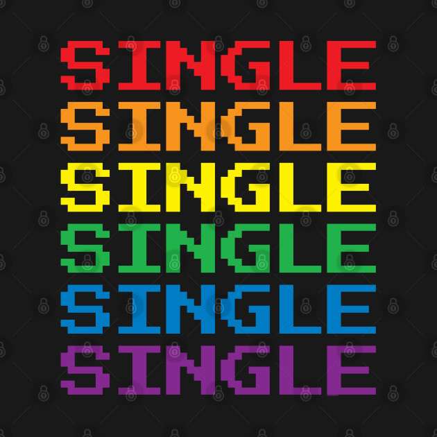 Single Retro Gay Gamer | LGBT Pride