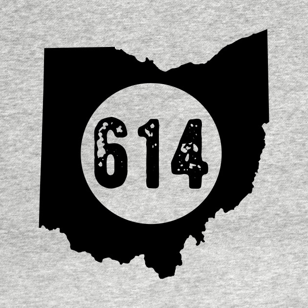 614 area code Ohio Columbus